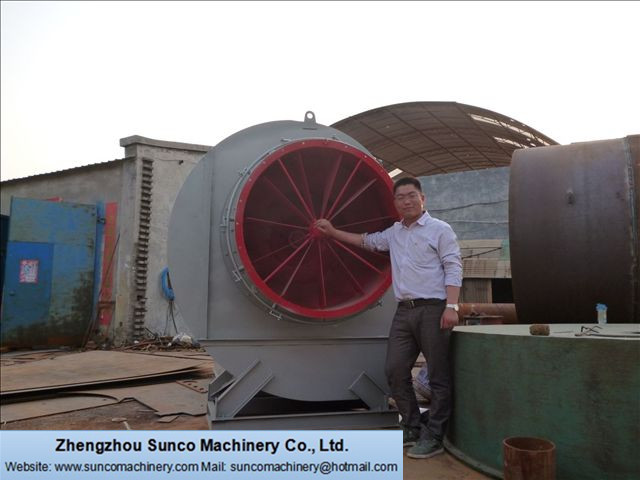 draft fan for Rotary Dryer, Rotary Drum Dryer