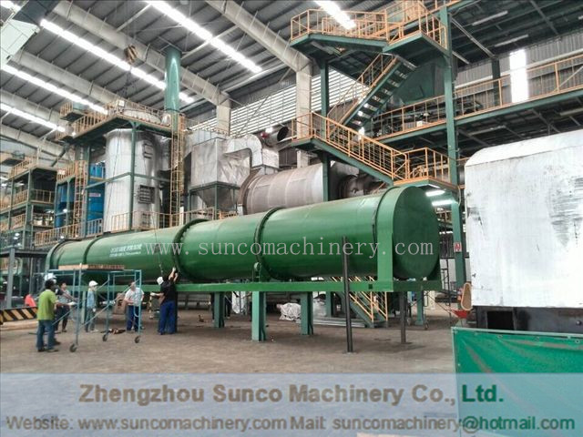 Rotary Drum Dryer for drying Iron concentrate, rotary drum dryer