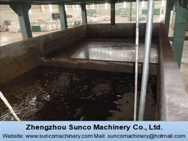 Recycling Water Pool for chicken manure drying machine