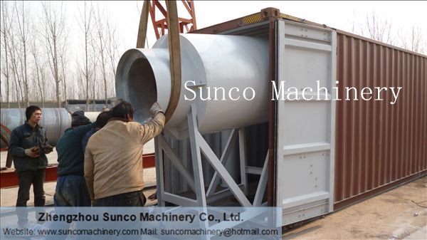 Hot Air furnace for sand drying line