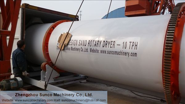 sand drying system, Malaysia sand dryer, sand dryer, Sand Drying Machine