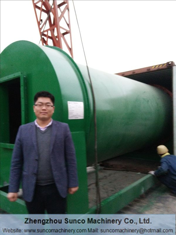 USA Chicken Manure Drying System