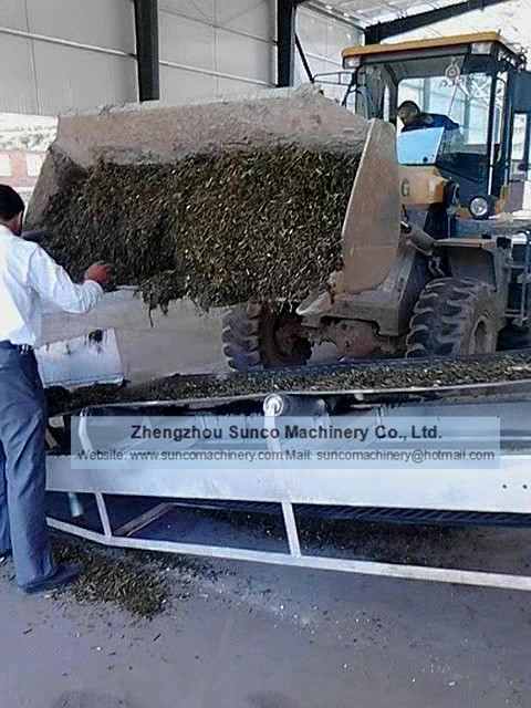 Alfalfa drying system, alfalfa dryer, alfalfa drying machine
