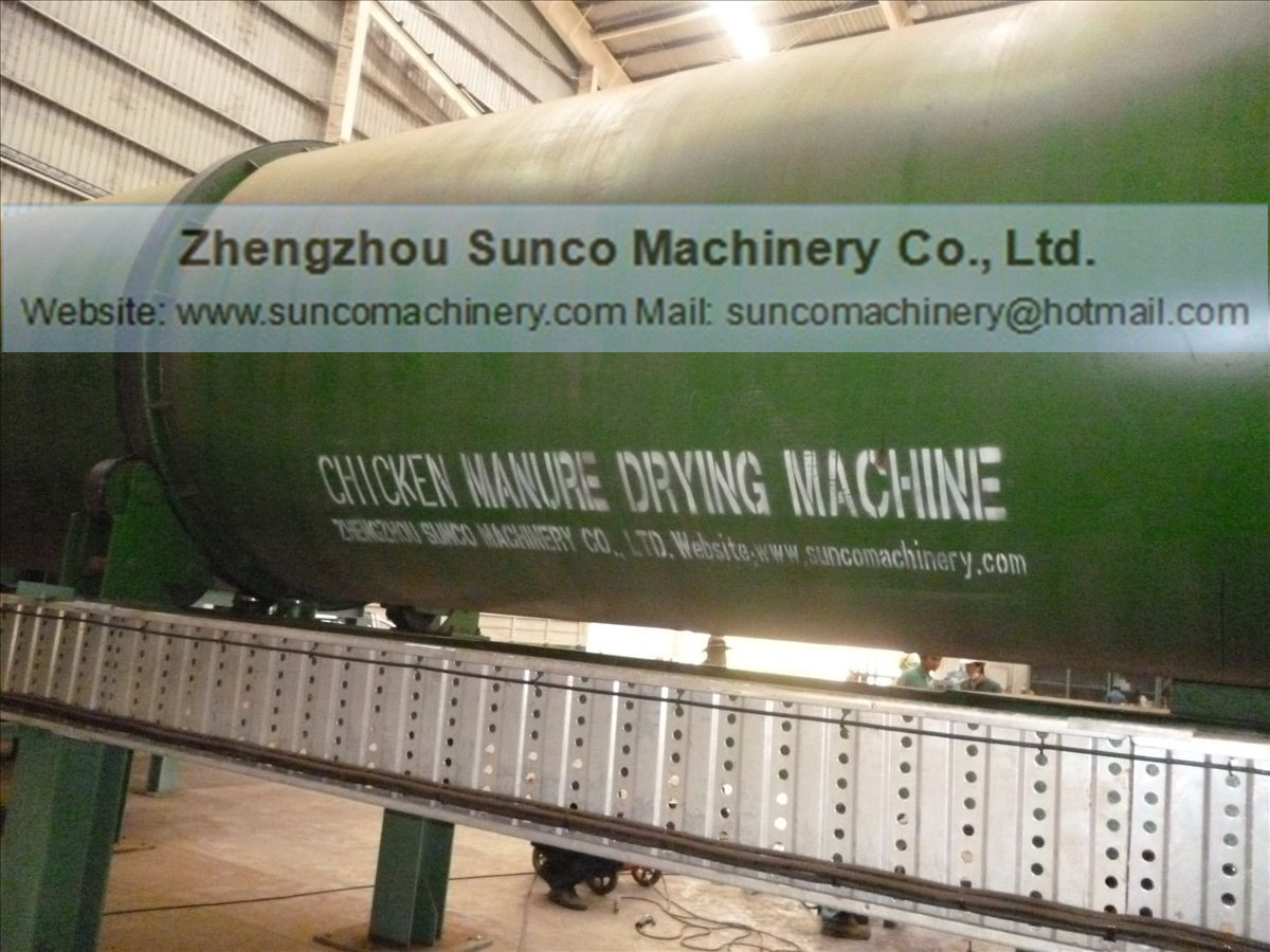 Drying Poultry Manure process, chicken manure dryer, poultry manure dryer