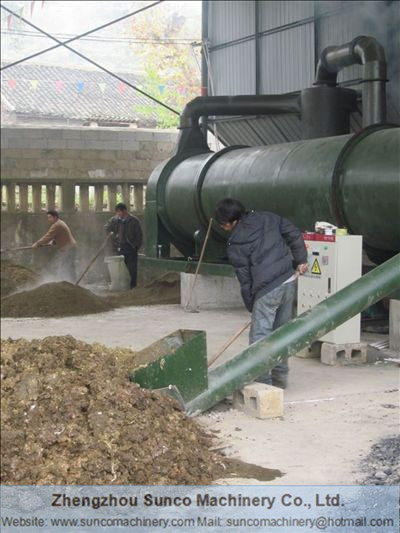 Features and Application of Chicken Manure Dryer Machine