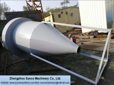 Cyclone Dust Separator for rotary manure dryer machine