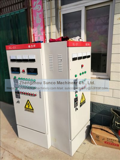 Electric Control Panel for Poultry Manure Drying System