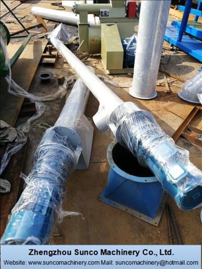 Inlet Screw Conveyor for poultry manure drying machine