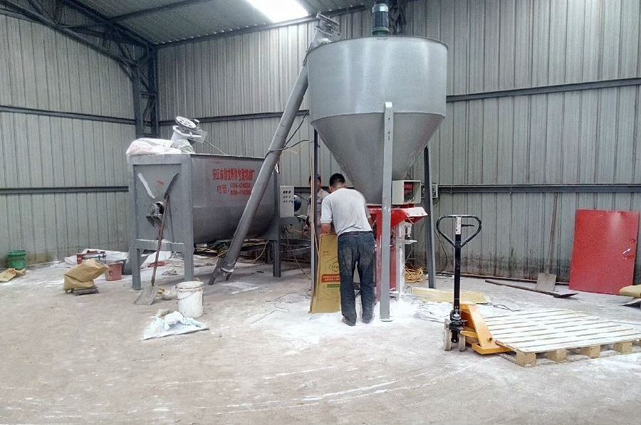 Dry Mortar Production Line, Dry Mortar Production System, Dry Mortar Making Plant