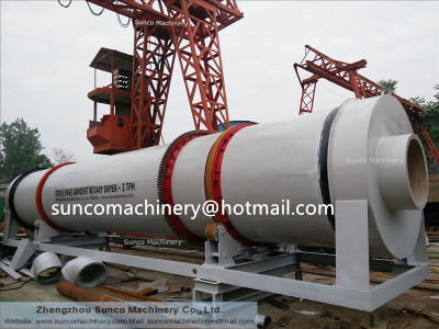 drying sand machine, sand drying machine , rotary sand dryer