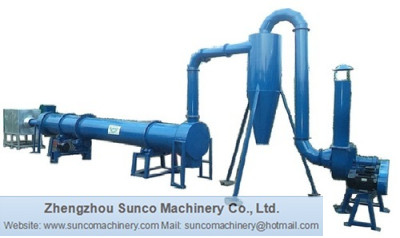 Rotating sawdust dryer, Rotary sawdust dryer, sawdust drying machine